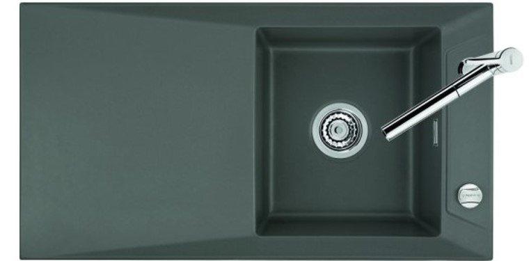 Küchen Spüle systemceram Siro 90 aus Keramik - 5069