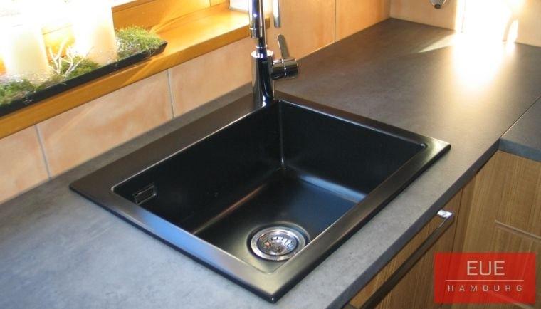 Küchen Spüle systemceram Mera 57 aus Keramik - 5057 - Angebot