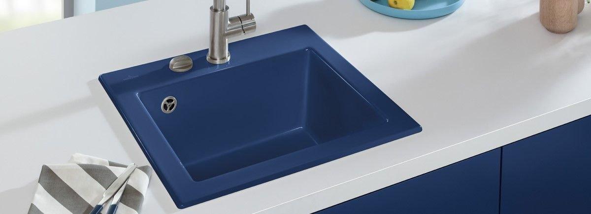 Keramikfarben für Spüle von Villeroy und Boch für Ihre Küche