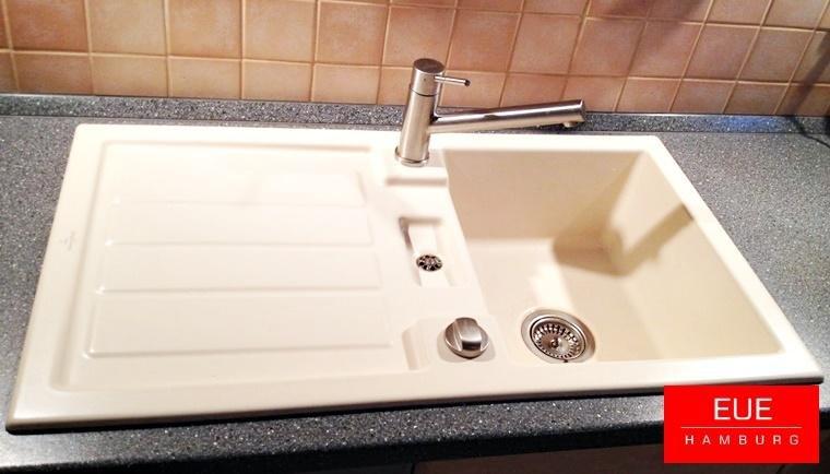 Villeroy Und Boch Waschbecken Küche | Spule Flavia 50 Aus Keramik Von Villeroy Und Boch Eue Hamburg