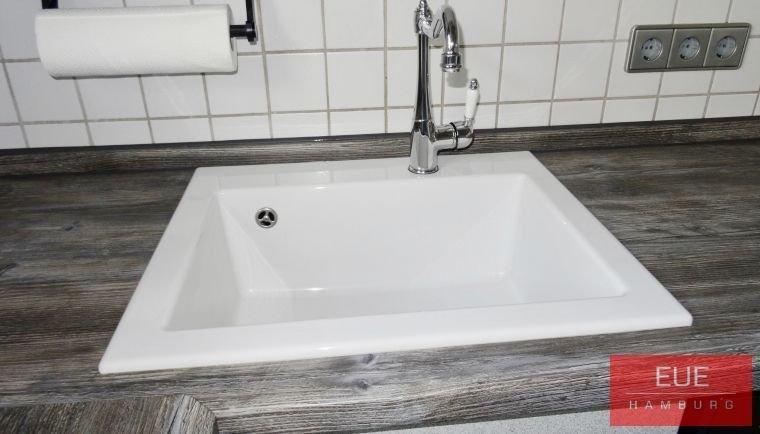 Atemberaubend Dunkelgrüne Küchenspüle Galerie - Küchenschrank Ideen ...