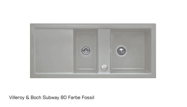 sp le subway 80 aus keramik von villeroy und boch eue. Black Bedroom Furniture Sets. Home Design Ideas