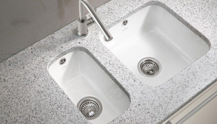 Unterbauspule cisterna 50 aus keramik von villeroy und boch for Unterbauspüle