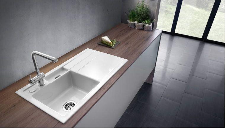 Küchen Spüle systemceram Bela 100 aus Keramik - 5021 Angebot