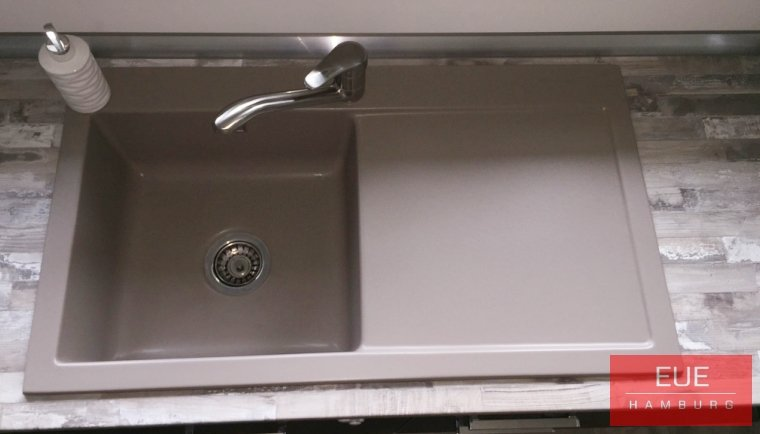 Küchen Spüle systemceram Mera 90 aus Keramik 5075 - Angebot