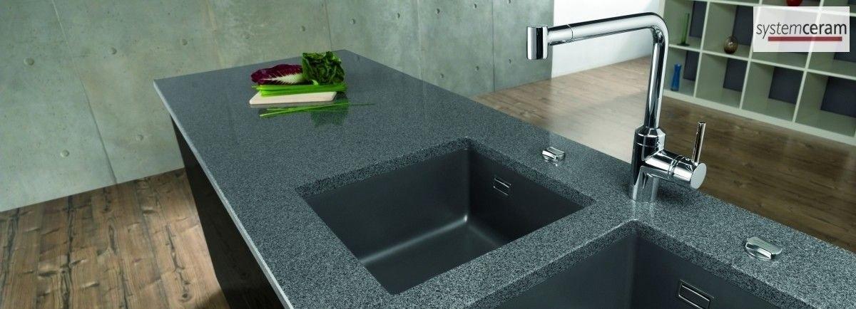 unterbausp len aus keramik von systemceram f r ihre k che. Black Bedroom Furniture Sets. Home Design Ideas