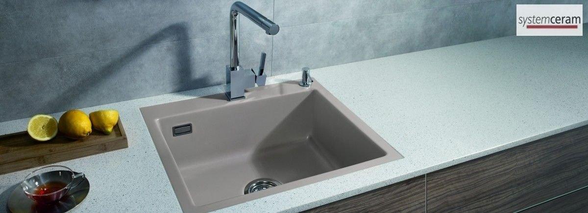 Flächenbündige Spülen aus Keramik von systemceram für Ihre Küche