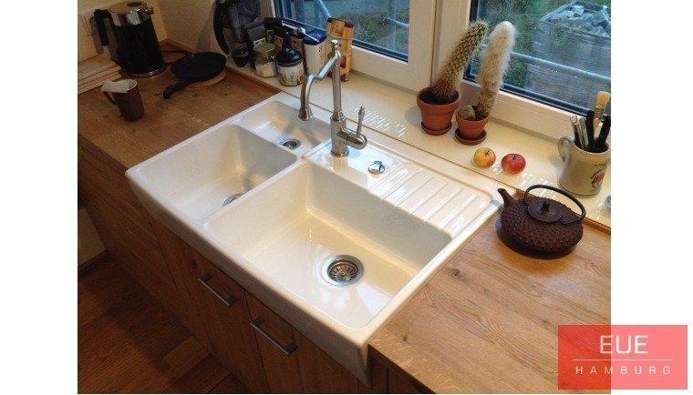 küchen spülstein systemceram centra 90 aus keramik - angebot - Spülstein Küche