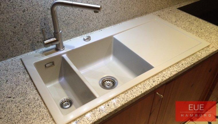 Küchen Spüle systemceram Mera 100 aus Keramik 5077 - Angebot