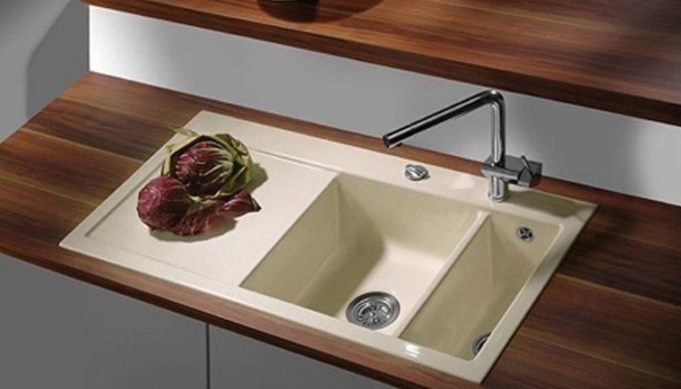 küchen spüle systemceram mera 100 aus keramik 5076 angebot